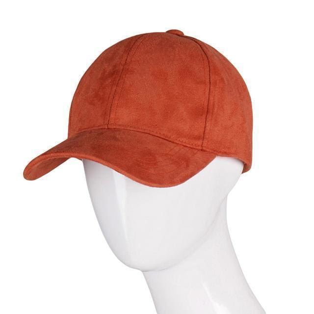 Suede Cap | Orange - Streetgarm
