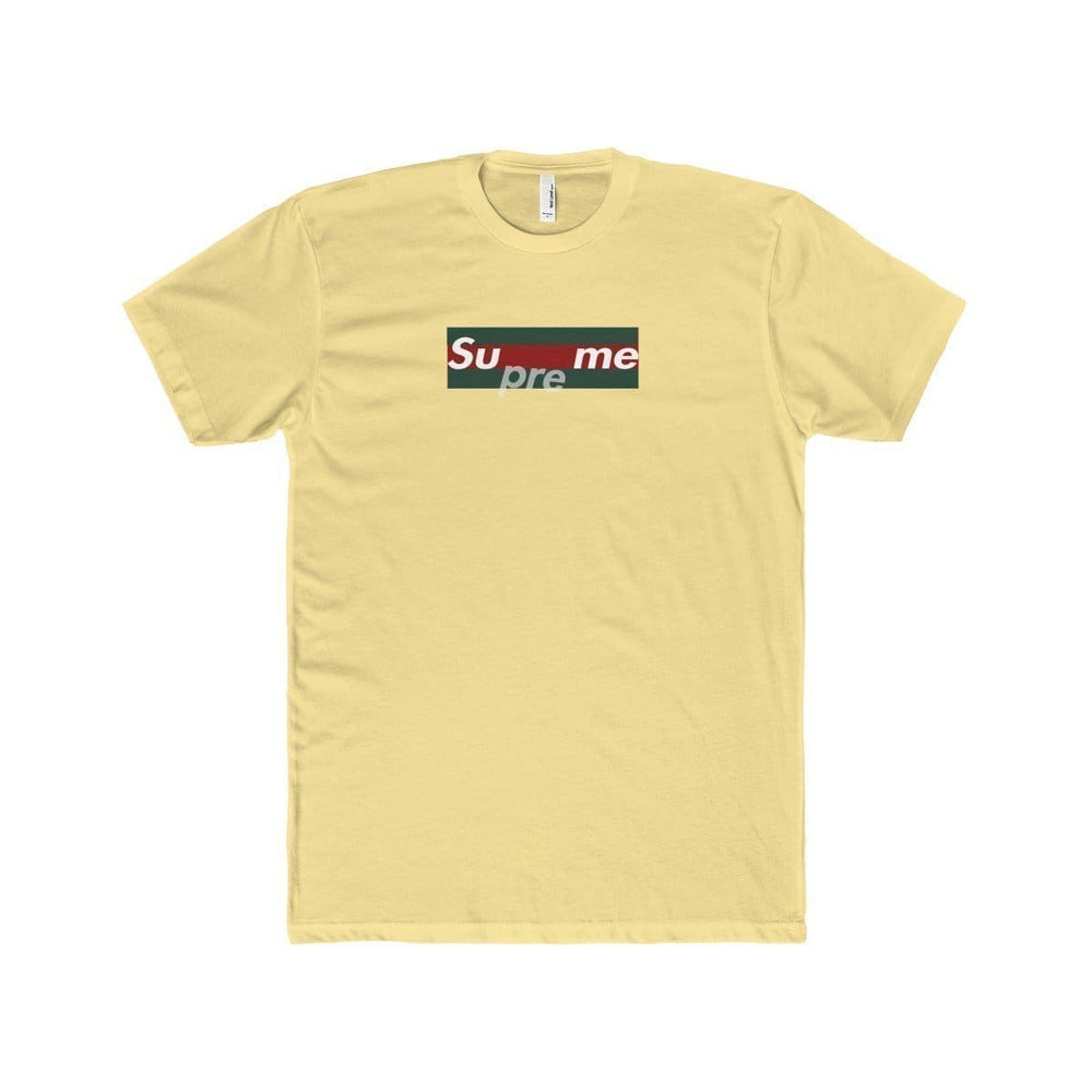 Supreme Gucci T-Shirt | Yellow / XS - Streetgarm