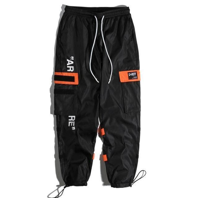 Tactical Cargo Pants | Black / S - Streetgarm