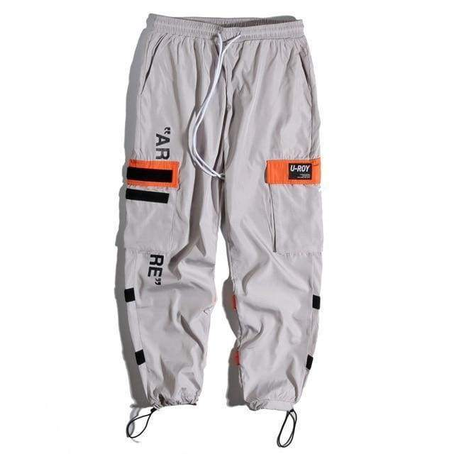 Tactical Cargo Pants | Grey / S - Streetgarm