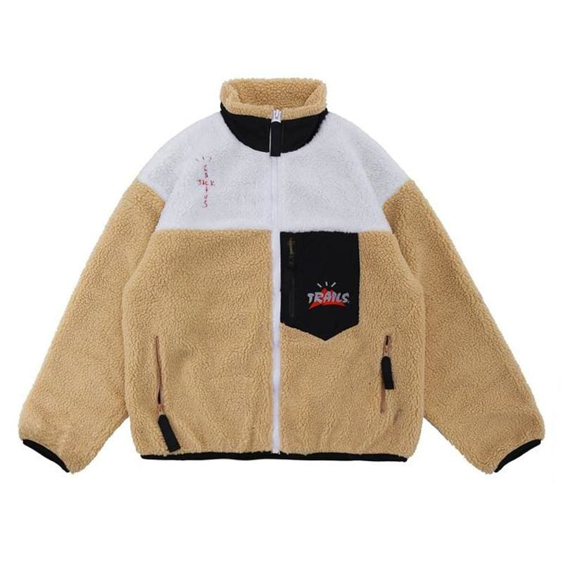 Travis Scott Trails Full-Zip Sherpa Jacket | Streetgarm