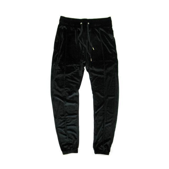 Velour Pants | BLACK / S - Streetgarm