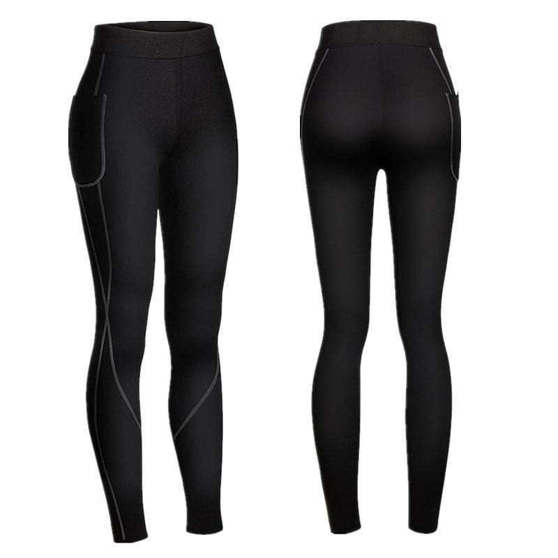 Workout Neoprene Leggings | Streetgarm