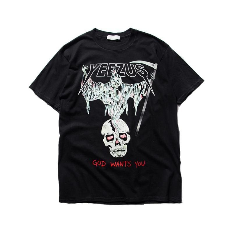 Yeezus Death Angel T-Shirt | Streetgarm