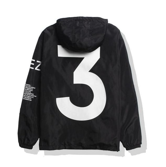 Yeezus Tour Limited Edition Y3 Windbreaker | Black / S - Streetgarm