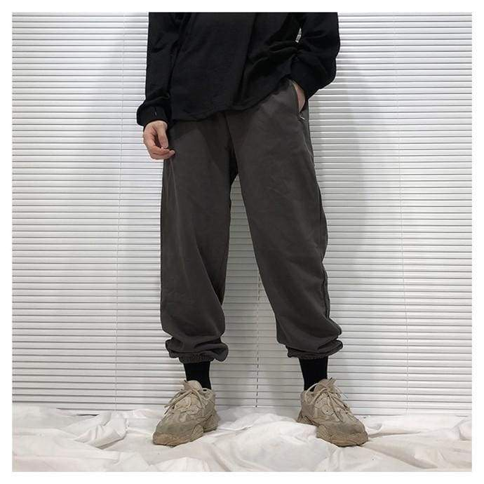 Yeezy Cotton Sweatpants - Black | Streetgarm