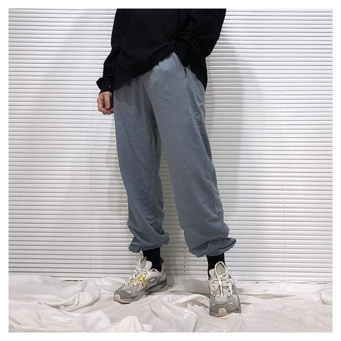 Yeezy Cotton Sweatpants - Pale Blue | Streetgarm