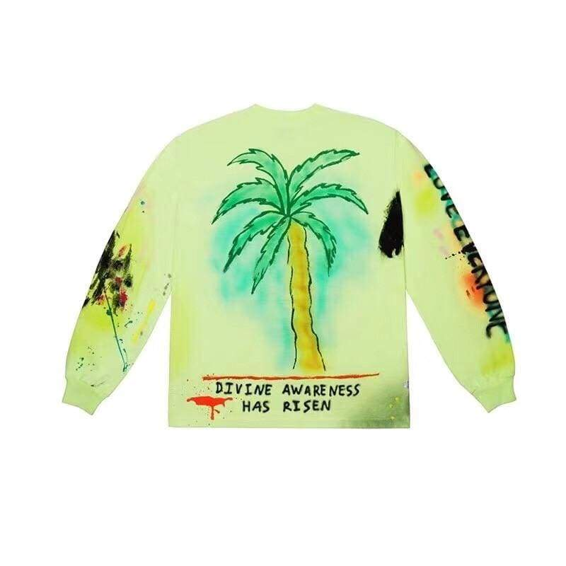 Yeezy Wes Lang Wyoming Long-Sleeve T-Shirt | Streetgarm