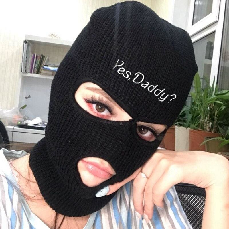 Yes Daddy? Fashion Ski Mask | Streetgarm