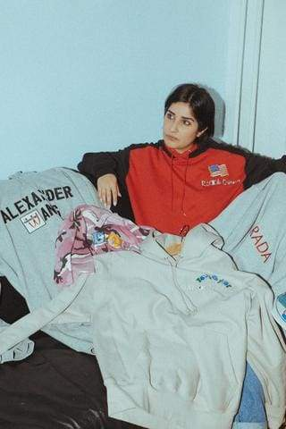Ava Nirui and the Gucci x Champion Hoodie