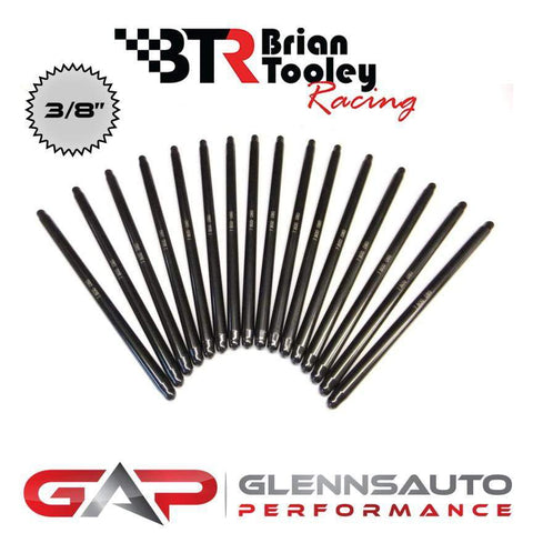 "Brian Tooley Racing BTR 3/8"" DIAMETER PUSHRODS (SET OF 16)"