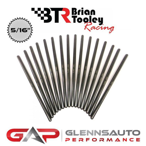 "Brian Tooley Racing BTR 5/16"" DIAMETER PUSHRODS (SET OF 16)"