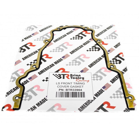 Brian Tooley Racing BTR LS FRONT TIMING COVER GASKET - Like GM# 12633904