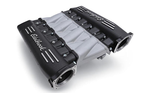 EDELBROCK LS3 CROSS RAM, WITH BLACK PLENUMS EDL71413