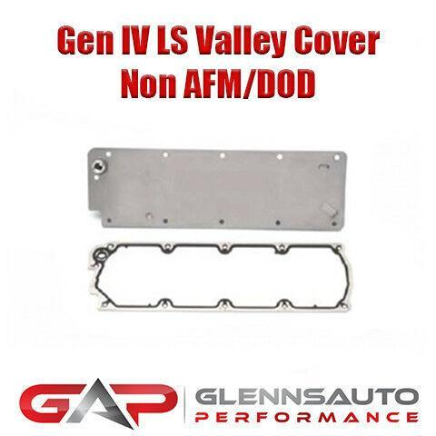 Gen IV LS Non AFM/DOD Valley Cover Block Off Plate