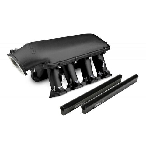 HOLLEY HI-RAM - (CATHEDRAL-92mm) BLACK 300-122BK