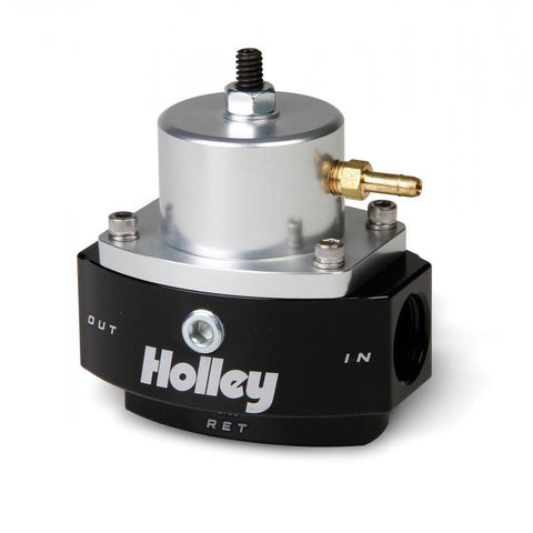 Brian Tooley Racing HOLLEY HP BILLET EFI FUEL PRESSURE REGULATOR (15-65psi) 12-846