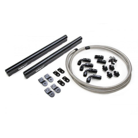 Brian Tooley Racing HOLLEY LS1/LS2/LS3/LS6/L99 COMPLETE BILLET FUEL RAIL KIT FOR FACTORY INTAKES