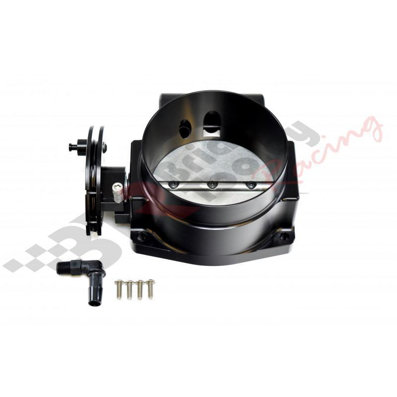 NICK WILLIAMS BILLET 92mm THROTTLE BODY - BLACK
