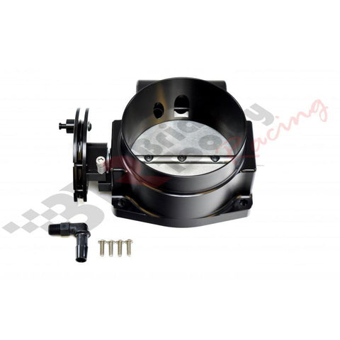 Brian Tooley Racing NICK WILLIAMS BILLET 92mm THROTTLE BODY - BLACK