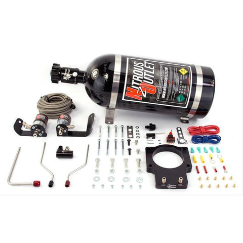 NITROUS OUTLET 04-06 GTO HARDLINE PLATE SYSTEM - FOR 90mm FAST - 00-10121-90-10