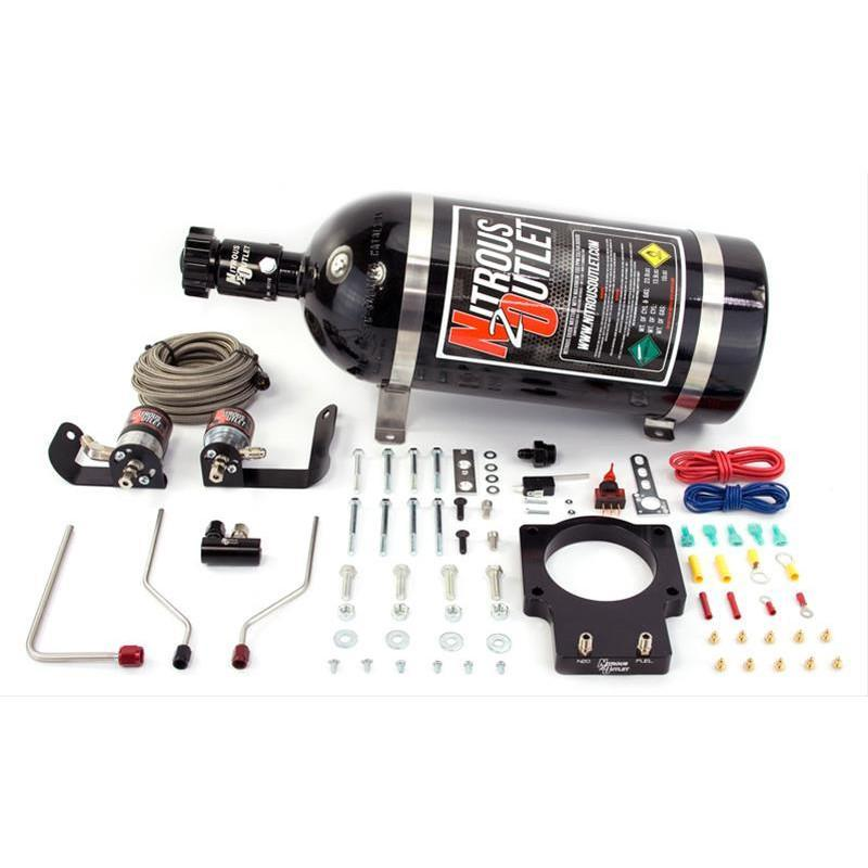 NITROUS OUTLET 04-06 GTO HARDLINE PLATE SYSTEM - FOR 92mm FAST - 00-10121-92-10
