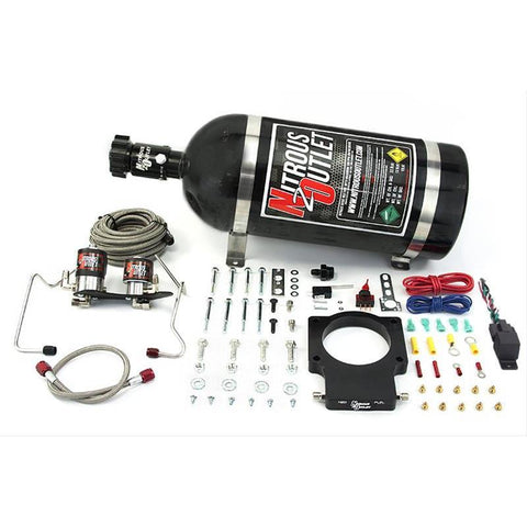 NITROUS OUTLET 07-13 GM TRUCK/TBSS 90mm PLATE SYSTEM - 00-10128-10