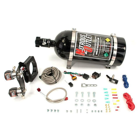 Brian Tooley Racing NITROUS OUTLET 2014+ 6.2L GM TRUCK HARDLINE PLATE SYSTEM - 00-10160-10