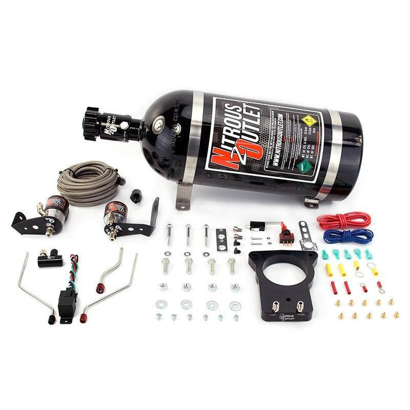 NITROUS OUTLET 98-02 F-BODY 78mm HARDLINE PLATE SYSTEM - 00-10118-78-00/10