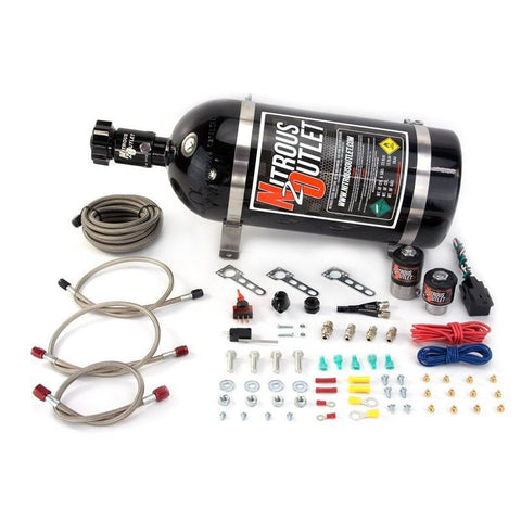 Brian Tooley Racing NITROUS OUTLET UNIVERSAL GM V8 EFI NITROUS KIT - 00-10000-10