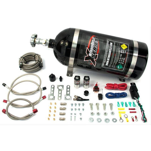 NITROUS OUTLET X-SERIES 87-98 MUSTANG EFI SINGLE NOZZLE SYSTEM 22-8200
