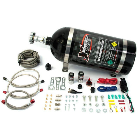 Brian Tooley Racing NITROUS OUTLET X-SERIES GM EFI SINGLE NOZZLE SYSTEM - 22-81000
