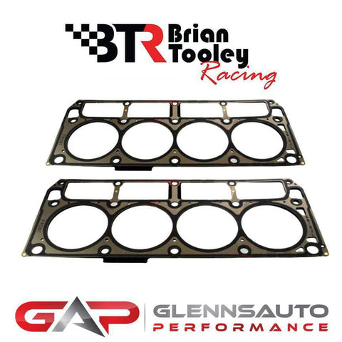 Brian Tooley Racing PAIR of Chevrolet Performance LS7 MLS Cylinder Head Gaskets - GM #12582179