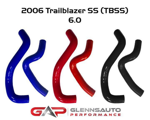 Glenn's Auto Performance 2006 Trailblazer SS Silicone Radiator Hose Kit