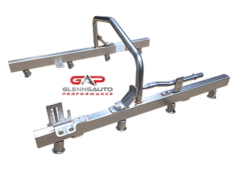 Glenn's Auto Performance Default Title New OE GM Fuel Rail Assembly For TBSS/NNBS Style Intakes