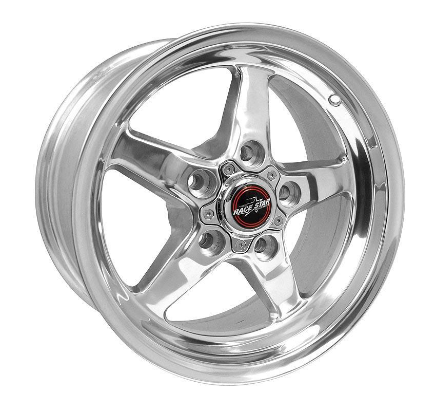 79-93 Fox Body Mustang 5-Lug - 92 Drag Star (Polished)