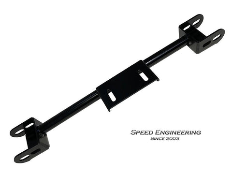 Speed Engineering Black 4L80E Conversion Crossmember 00-06 GM Truck (4WD)