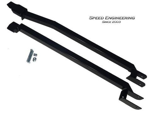 Speed Engineering Black Weld in Subframe Connectors 93-02 Camaro