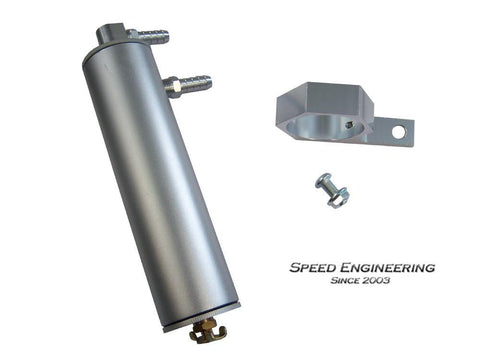 Speed Engineering LS Catch Can Camaro, Corvette, Silverado, Sierra (GM LS1, LS2, LS3, LS6) Silver