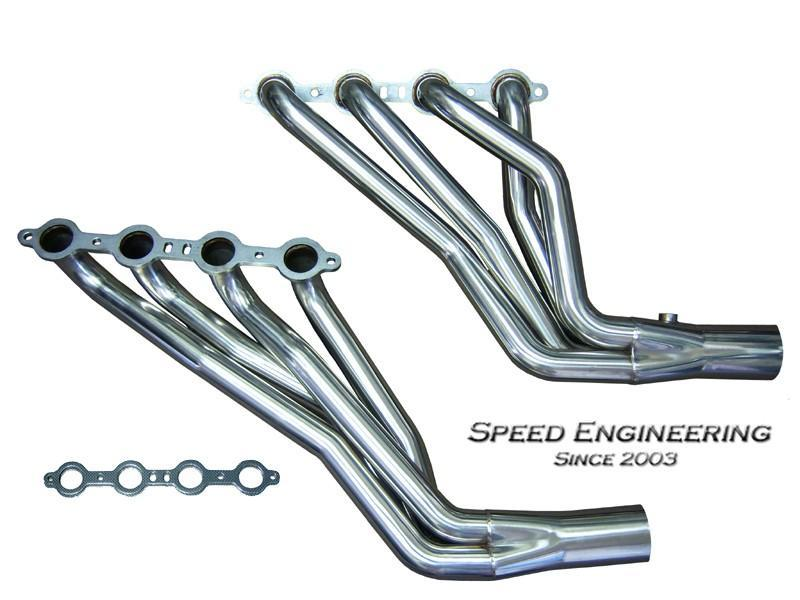 SPEED ENGINEERING LONG TUBE 99-06 GM TRUCK
