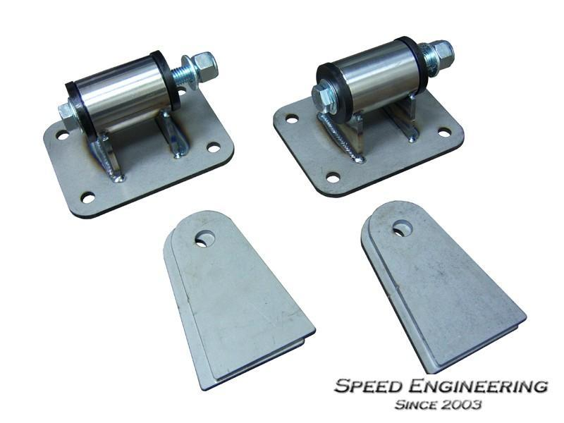 SPEED ENGINEERING LS SWAP UNIVERSAL ENGINE MOUNTS