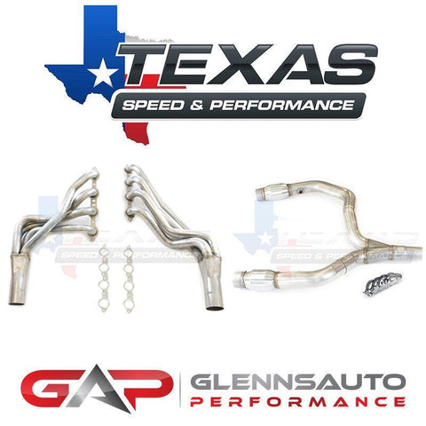 Texas Speed (TSP) 98-02 F-Body Camaro Long Tubes w/ Optional Y-Pipe