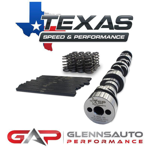 "Texas Speed Stage I 208/214 .550""/.550"" 112 LSA / No TSP HIGH LIFT TRUCK CAMSHAFT PACKAGE"