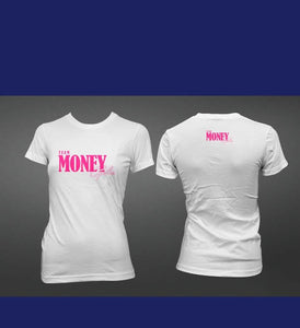 Ladies Slim Fit Signature TeamMoneyCycles T-Shirt