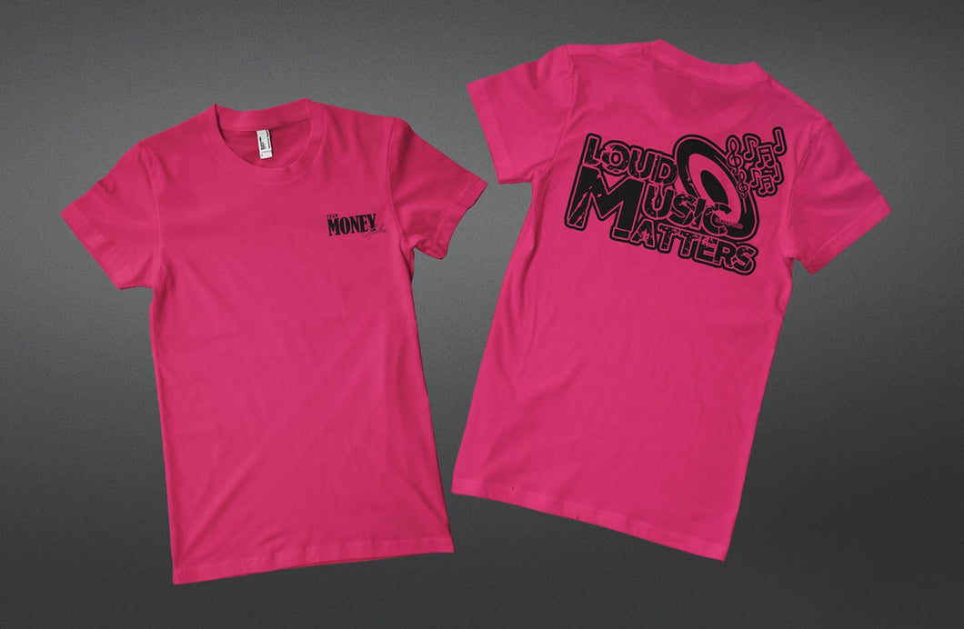 Women Loud Music Matters T Shirt