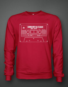 "Retro ""Down Wit Da Clique"" Sweater"