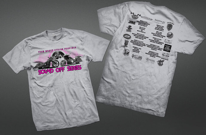 Official 2019 TMC Sound Off Series Event Shirt