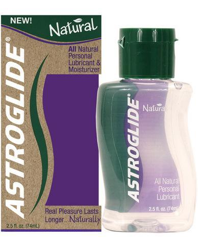 Astroglide natural lubricant - 2.5 oz bottle - Romance Keeper