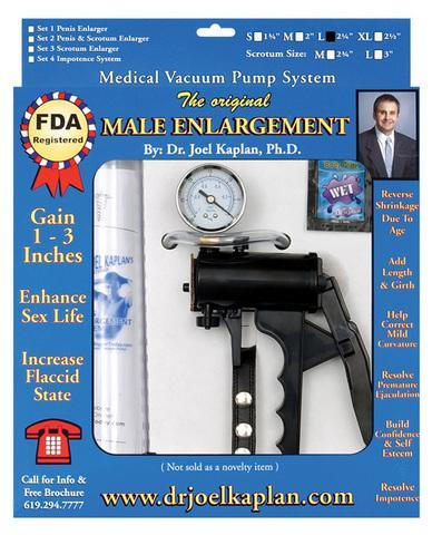 The original male enlargement pump system 2.25in - Romance Keeper