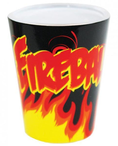 Fireball Shot Glass Black - Romance Keeper